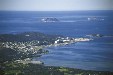 Blick auf Albany