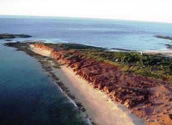 Cape Leveque aus der Luft
