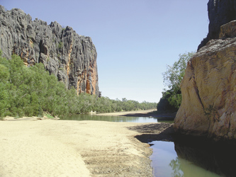 Schlucht in Westaustralien