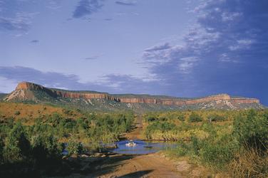 Überquerung des Pentecoast River