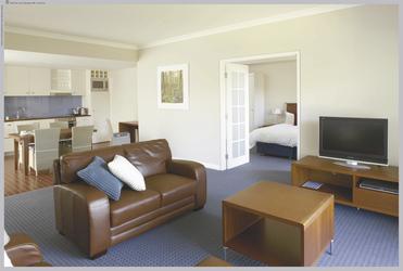 1 Schlafzimmer Apartment (Wohnbeispiel)