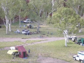 Camp in Durba Springs