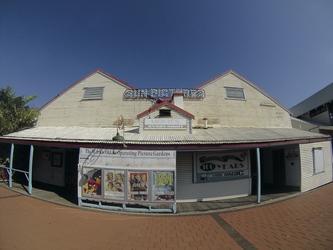 Open Air Kino in Broome