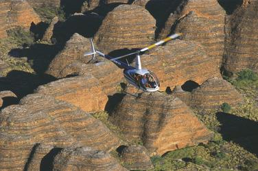 Helikopterflug über die Bungle Bungles