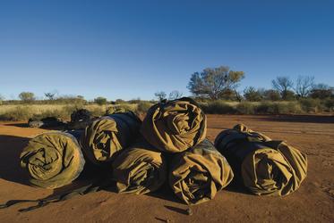 Swags - australischer Schlafsack, ©Cameron Gaze