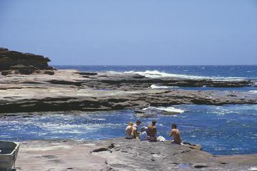 Küste im Kalbarri Nationalpark