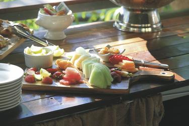 Früchte zum Frühstück