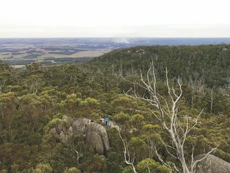 Aussicht vom Castle Rock