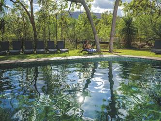 Pool für die Gäste