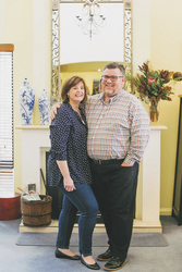 Die Gastgeber Sally & Craig, ©Lee Griffith