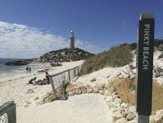 Strandzugang vom Resort