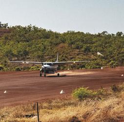 Landung auf Cockatoo Island