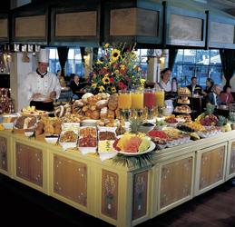 Einladendes Frühstücksbuffet inklusive