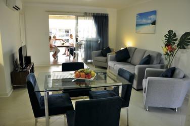 2 Schlafzimmer-Apartment