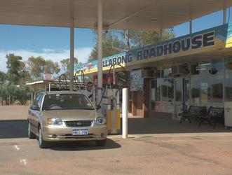 Typisches Roadhouse in Westaustralien
