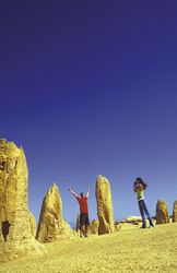 Bei den Pinnacles im Nambung Nationalpark