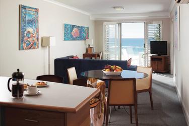 Ess- und Wohnbereich, Superior Apartment