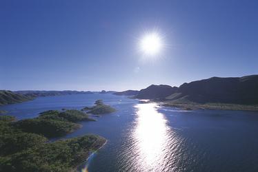 Blick auf den Lake Argyle