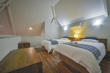 Schlafbereich im Loft, ©aabz-imaging