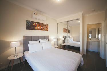 Hauptschlafzimmer im 2 SZ Apartment
