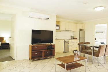 Wohnbereich im 2 SZ Apartment