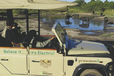 Chobe Game Lodge Elektro-Safarifahrzeug