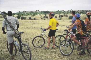 Pirschfahrt mit dem Fahrrad