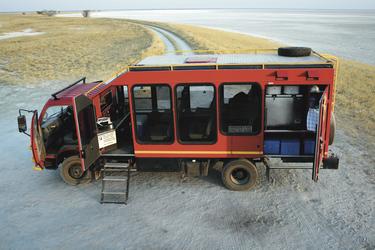 Sunway Safaris Fahrzeugbeispiel