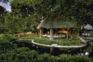 Lounge mit Terrasse