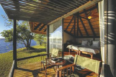 Chaletbeispiel, ©Desert & Delta Safaris