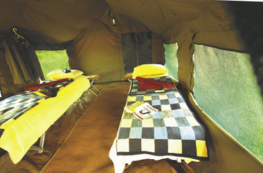 Zeltbeispiel, ©Letaka Safaris