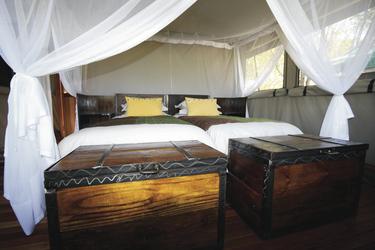 Sango Safari Camp, Zeltbeispiel