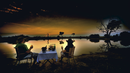 Savute Safari Lodge Sonnenuntergang, ©Stuart James Arnold / Kalahari Images