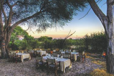 Leroo La Tau Buschabendessen, ©Desert & Delta Safaris