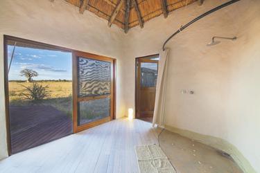 Dusche mit Aussicht, ©Kwando Safaris