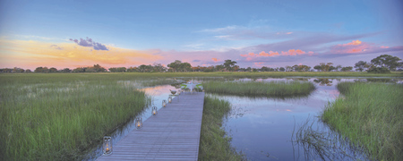 andBeyond Xaranna Okavango Delta Camp privates Abendessen, ©Stevie Mann