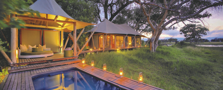 andBeyond Xaranna Okavango Delta Camp Wohnbeispiel, ©Stevie Mann