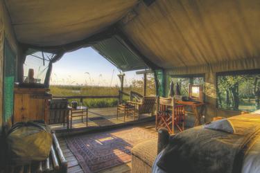 Safarizelt , ©Desert und Delta Safaris