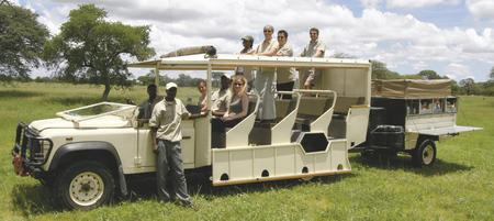 Bush Ways Safaris Fahrzeugbeispiel