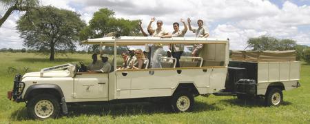 Safari-Fahrzeugbeispiel