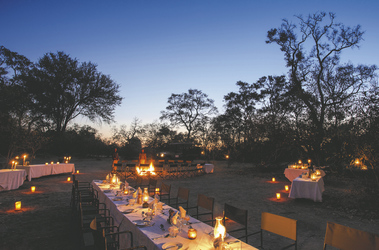 Abendessen unter Sternen