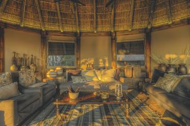 Lounge Bereich, ©Desert & Delta Safaris