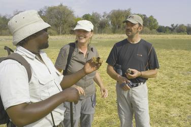 Kwando Kwara Camp Buschwanderung