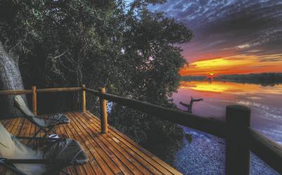 Romantische Abendstimmung, ©Desert and Delta Safaris