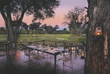 Abendessen unterm Sternenzelt, ©African Bush Camps