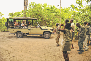 Willkommen im Khwai Tented Camp, ©African Bush Camps