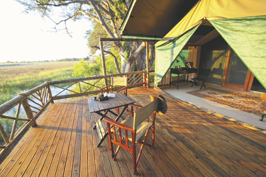 Pom Pom Camp, Wohnbeispiel, ©Under One Botswana Sky