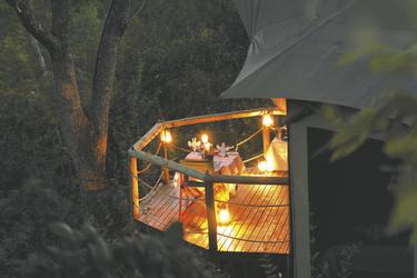 Privates Abendessen auf der Terrasse