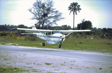 Spannende Anreise mit einem Kleinflugzeug