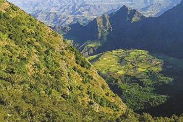 Gebirgslandschaft in den Semien-Bergen, ©Bernd Nill